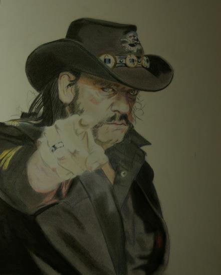 Lemmy Kilmister by sebaladin